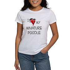 Miniature Poodle Tee