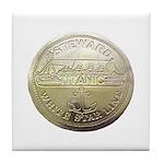 RMS Titanic Steward Tile Coaster