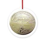 RMS Titanic Steward Ornament (Round)