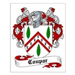 Coupar Family Crest Small Poster