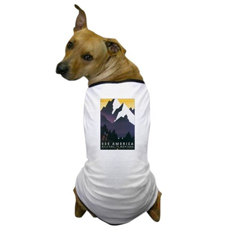 Montana MT Dog T-Shirt