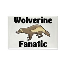 Wolverine Fanatic Rectangle Magnet