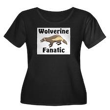 Wolverine Fanatic Women's Plus Size Scoop Neck Dar