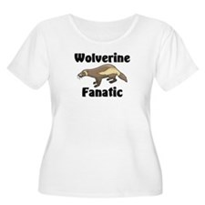 Wolverine Fanatic Women's Plus Size Scoop Neck T-S