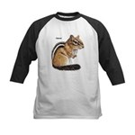 Ground Squirrel Chipmunk Kids Baseball Jersey