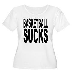 Basketball Sucks Women's Plus Size Scoop Neck T-Sh