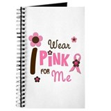 I Wear Pink For ME 12 Journal