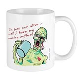 Coffee Zombie Small Mug