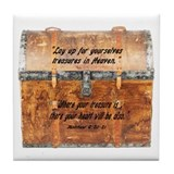 Treasure in Heaven Tile Coaster