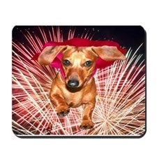 Super Dachshund Mousepad