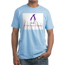 Purple Penguin of Happiness Shirt