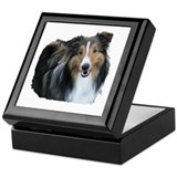 Sheltie / Shetland Sheepdog Keepsake Box