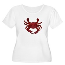 Single Red Crab T-Shirt