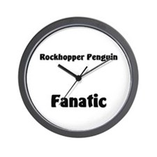 Rockhopper Penguin Fanatic Wall Clock