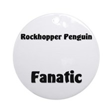 Rockhopper Penguin Fanatic Ornament (Round)