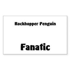 Rockhopper Penguin Fanatic Rectangle Sticker