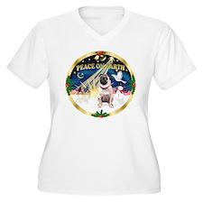 XmasSunrise/Pug T-Shirt