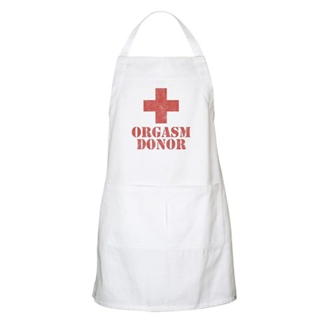 Orgasm Donor BBQ Apron