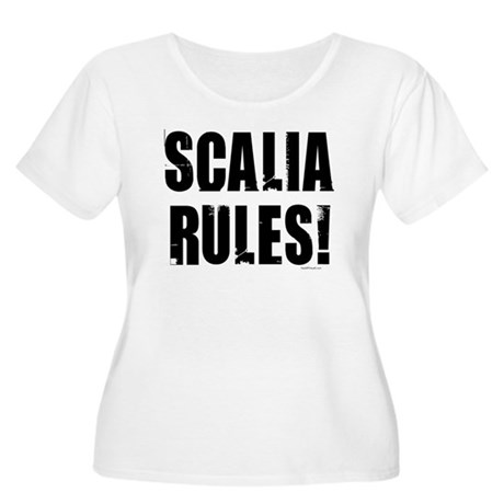 Scalia Rules Women's Plus Size Scoop Neck T-Shirt