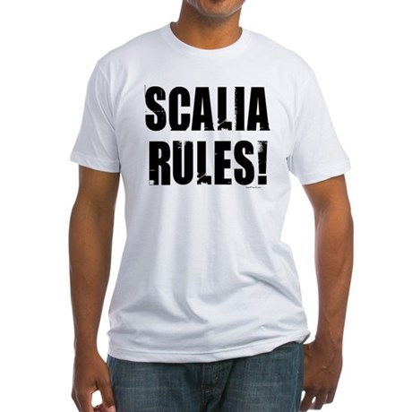 Scalia Rules Fitted T-Shirt