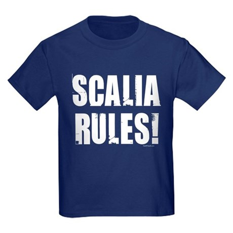 Scalia Rules Kids Dark T-Shirt