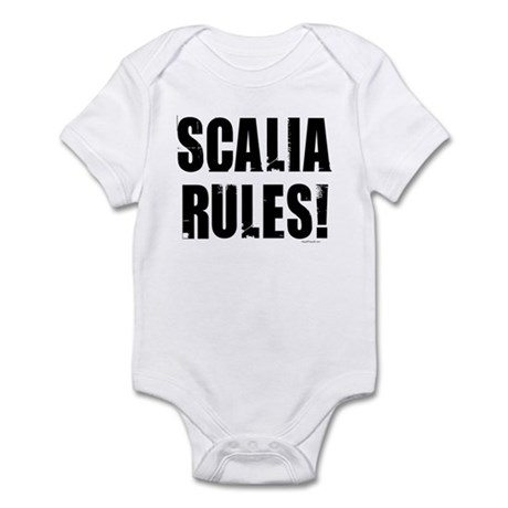 Scalia Rules Infant Bodysuit