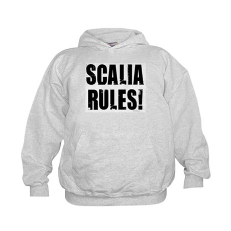 Scalia Rules Kids Hoodie
