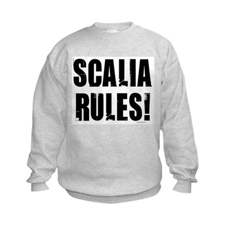 Scalia Rules Kids Sweatshirt