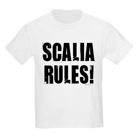 Scalia Rules Kids Light T-Shirt