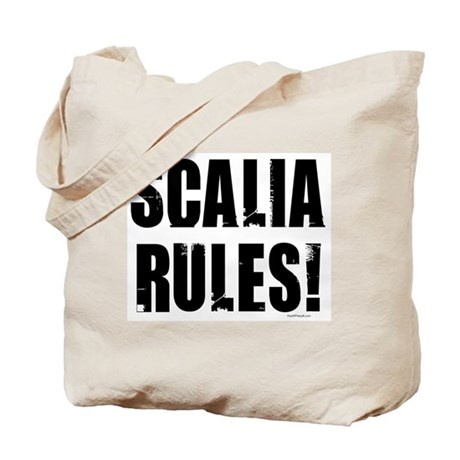 Scalia Rules Tote Bag