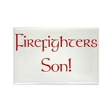 Firefighters Son! Rectangle Magnet (10 pack)