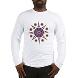 Batik Mandala Long Sleeve T-Shirt