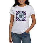 Colorful Papercut Women's T-Shirt