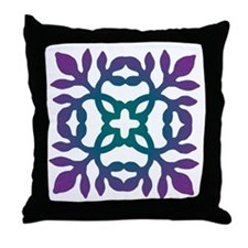 Colorful Papercut Throw Pillow