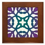 Colorful Papercut Framed Tile