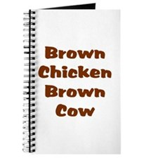 Brown Chicken Brown Cow Journal