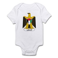 Palestine Coat of Arms Infant Bodysuit