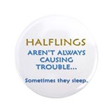 "Troublesome Halflings 3.5"" Button (100 pack)"
