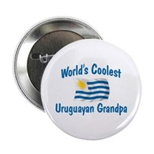 "Coolest Uruguayan Grandpa 2.25"" Button"