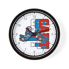 Ultimate Go Cart Wall Clock