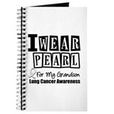 I Wear Pearl For My Grandson Journal