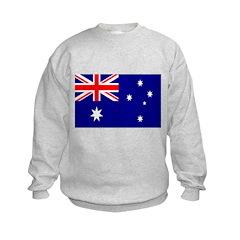 AUSTRALIA Flag of Australia Kids Sweatshirt