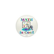 Math is Cool Mini Button (100 pack)