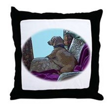 I will wait for you dachshund Throw Pillow