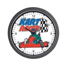 Kart Racer Wall Clock