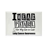 I Wear Pearl For My Son-in-Law Rectangle Magnet