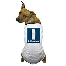 White Blaze - Follow Me! Dog T-Shirt