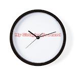 My Girlfriend's A Nerd Wall Clock
