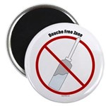 Douche Free Zone Magnet