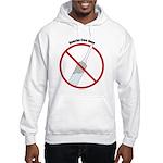 Douche Free Zone Hooded Sweatshirt